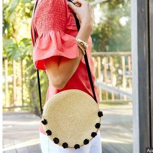 Stella & Dot Tilda Pom Pom Bag
